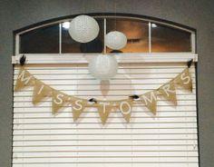 Miss to Mrs Bridal Shower Banner by TwistedBridge on Etsy, $13.00