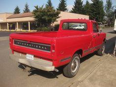 OLD PARKED CARS: 1974 International Harvester 200 Pickup.