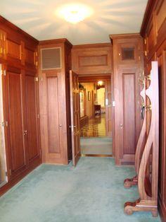 Marland Mansion dressing room