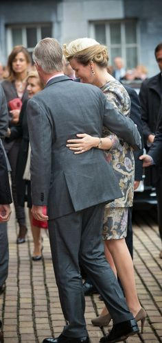 10-16-13.   MYROYALS &HOLLYWOOD FASHİON: King Philippe and Queen Mathilde in Gent