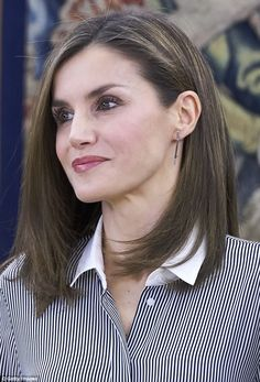 The 44-year-old is mother toPrincess Leonor, 11, and Princess Sofía, nine...