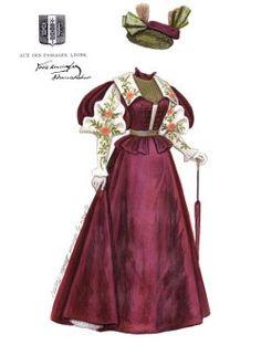 [Lyons, la moda 1896]