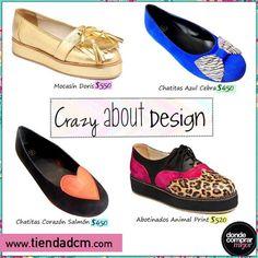 ¡El diseño nos enloquece! ¿Cuál es tu favorito?  Buscá tu par soñado en ➜ www.tiendadcm.com/listado/Calzado/27080