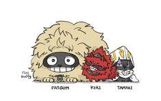MiniBuddy — Aizawa sensei can understand pups language very. Boku No Hero Academia, My Hero Academia Memes, Hero Academia Characters, My Hero Academia Manga, Me Anime, Anime Kawaii, Animes Wallpapers, Cute Wallpapers, I Love You Puppy