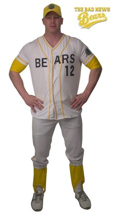 Bad News Bears Costume Adult