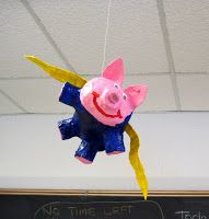 There's a Dragon in my Art Room: Anything is possible in the art room - pigs are flying!