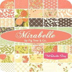 Mirabelle - Fig Tree Quilts for Moda Fabrics