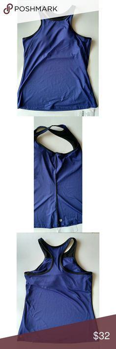 Fabletics Neve Tank  - Size M/8 - NWT Fabletics Neve Tank  - Size M/8 - New with Tags (NWT)  Vixen (purple) and black tank with contrast piping on side seams. Moisture-wicking fabric. All-way stretch technology. Built-in shelf bra with removable cups. Front and back racer styling. Fitted body. Hip length.  Color: Vixen (purple) and black  Materials: Body: 88% polyester, 12% elastane; Contrast: 76% nylon, 24% elastane  Machine wash cold  No stains, holes, or other damage Fabletics Tops Tank…