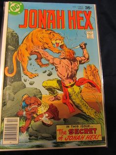Jonah Hex 7 & 8 original series.  VF to VF/NM!  Highly sought issues!