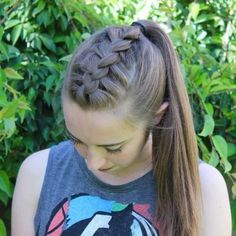 Half up half down braids       Hair       Pinterest   Hair style  Makeup     50 franz    sische Braid Frisuren