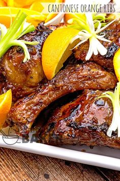 These Cantonese-style ribs feature a hint or orange in the sauce, and they're on the table in 30 minutes too! Cantonese Orange Ribs: Fast Or Slow You have a choice of what method you use to cook these Cantonese-style orange ribs. The quickest way to have them on the table is with an Instant Pot...Read More »