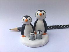 Penguin family. Pottery penguin family byKateElford