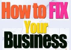 Don't think it's only you that need a fix in your business. Many business owners are emotionally drained from trying to run their business successfully. Have you taken time to do your first quarter check up? If things aren't going the way you want them to, then let's fix it fast so yo can have a successful year in your business. Growing a business is a ongoing process, and smart business owners know that in order to get the big breaks we have to keep tweaking until we get it right. RIGHT?  I'...