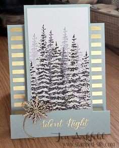 Stamped Silly: How to create a Step Card - Wonderland Stamp Set