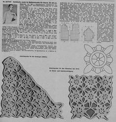 Maravilhas do Crochê: Roupas com motivos de crochê
