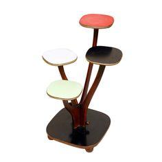 """Czaderski kwietnik """"drzewko"""" (może być szczęścia), który ma to coś, czego nie maja żadne inne meble. #vintage #vintagefinds #vintageshop #forsale #design #midcentury #midcenturymodern"""