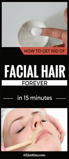How To Get Rid Of Facial Hair Forever In 15 Minutes #fitness #beauty #hair #workout #health #diy #skin #Pore #skincare #skintags #skintagremover #facemask #DIY #workout #womenproblems #haircare #teethcare #homerecipe