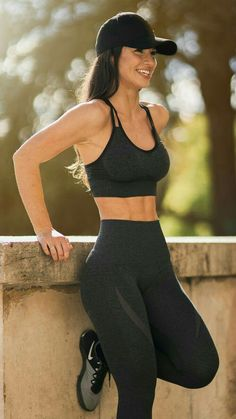 Sport Body Motivation Fitness 23 Ideas For 2019 Yoga Outfits, Sport Outfits, Workout Outfits, Cute Gym Outfits, Women Workout Clothes, Exercise Clothes, Workout Attire, Workout Clothing, Workout Gear