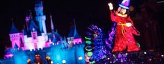 Paint the night parade disneyland