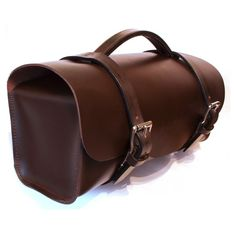 There's something about a proper leather tool bag that just exudes oily charm, this 100% leather bag is made by hand in Britain and measures 16.5″ x 6″ x 8.5″, making it the perfect size for use by motorcyclists. Grab yours here.