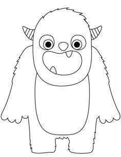 60+ Monster Coloring Pages ideas | monster coloring pages ...