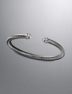 5mm Pearl Cable Classics Bracelet  $625