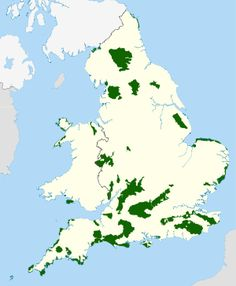 England and Wales AONBs map - Area of Outstanding Natural Beauty - Wikipedia, the free encyclopedia Ireland Beach, Ireland Travel, The Places Youll Go, Places To See, Ireland People, Backpacking Ireland, Ireland Culture, Ireland Hotels, Ireland Weather