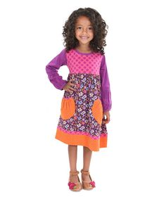Another great find on #zulily! Purple Desert Lily Delany Dress - Kids & Tween #zulilyfinds
