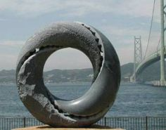 Dream Lens by Keizo Ushio, Kobe Bridge, Japan via maa.org  #Keizo_Ushio #Dream_Lens #maa_org
