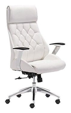 Office Chair In White WL-1753-ZM