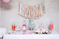 Shabby Chic Party Theme   Shabby Chic 1st Birthday Party Full of Darling Ideas via Kara's Party ...