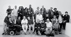 Twenty-eight legends of the Downtown scene — including Philip Glass, Larry Kramer, Chuck Close and Iman — gather in SoHo for a special portrait.