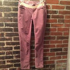 Maternity Pink Corduroy Pants Gap Always Skinny Pants. Super comfy and pretty color. GAP Pants