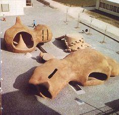 Pierre Szekely's playground Grenoble 1967