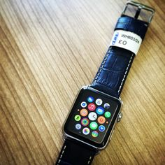 Apple Watch looking great with a LBS watch strap. #watches #watchmakers #watchstraps #apple #applewatch by lbswatchstraps