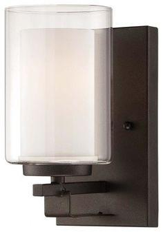 Minka-Lavery Parsons Studio 1-Light Bath - 6101-172 - transitional - Bathroom Vanity Lighting - Lighting and Locks