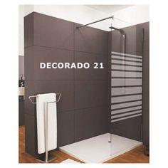 Mampara de ducha de 1 hoja fija + 1 abatible - Modelo LIBO Divider, Bathtub, Bathroom, Furniture, Home Decor, Templates, See Through, Glass Panels, Fire Glass