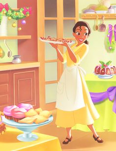 The Princess and the Frog - Tiana Christmas