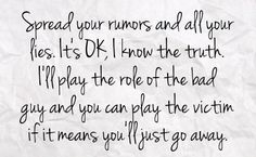 Stop Spreading Rumors Quotes   You can get your favourite quotes as a cute picture for your timeline ...