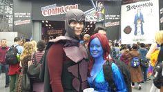 New York Comic Con 2014, Magneto and Mystique.