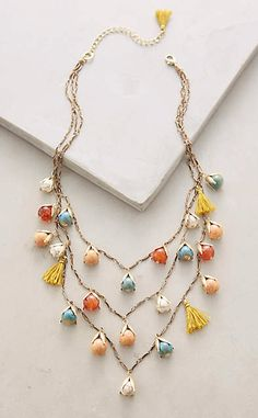 Rosebud Layer Necklace #anthrofave