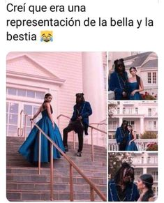 I thought it was a Beauty & the Beast costume thing Funny Spanish Memes, Spanish Humor, Spanish Quotes, Beauty And The Beast Costume, Mexican Memes, Reaction Pictures, Best Memes, Funny Posts, Funny Images