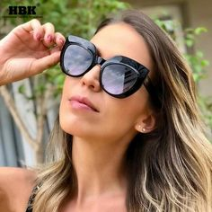 Women's Sunglasses Women's Glasses Rbrare 2019 Ocean Lens Cateye Sunglasses Women Triangle Classic Vintage Outdoor Party Sun Glasses Lunette De Soleil Femme Wide Varieties