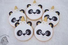 Unipanda/pandicorn /panda Panda Birthday Party, Panda Party, Baby 1st Birthday, Birthday Parties, Find My Spirit Animal, Unicorn Cookies, Party Themes, Party Ideas, Bear Theme