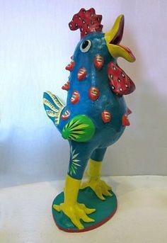 Ortega Ceramic Blue Chicken