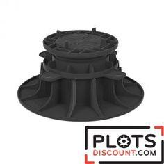 Plot terrasse réglable 80/140 mm pour dalle  Plots de terrasse à prix discount , qualité française expédié en 24 H