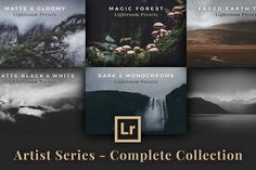 Complete Artist Series for Lightroom by PhotoMarket on @creativemarket