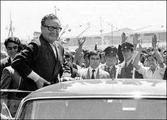 Salvador Allende fue un personaje político querido por la mayoría de los más pobres en Chile.