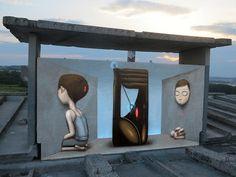 ღღ Artist: Seth Globepainter ~~~~    Lviv, Ukraine, 2012 w/ Teck