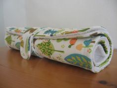 Quilted Changing Pad for Baby Boy in Woodland by CottonSweetBaby, $14.00